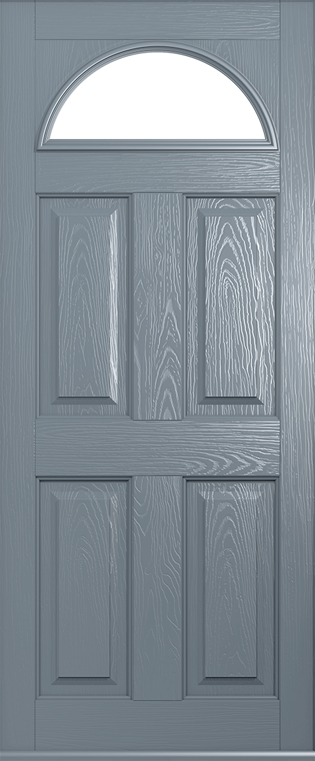 French Grey Doors From Solidor Front Composite Doors