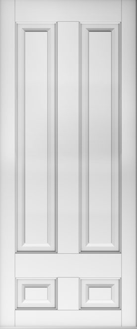 A Solidor Edinburgh door in white