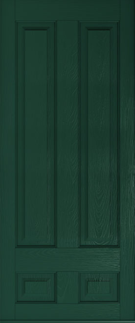 a Solidor Edinburgh front door in green