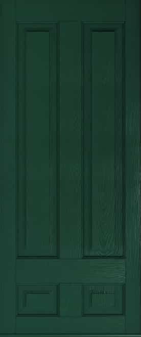 a Solidor Edinburgh front door in green