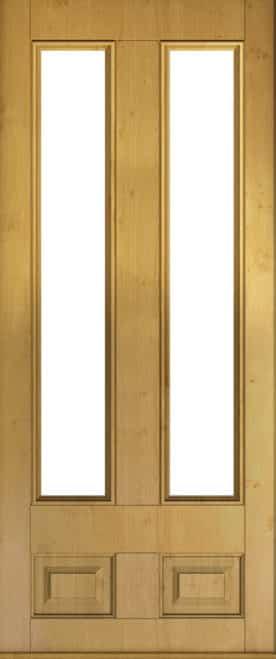 edinburgh glazed irish oak door