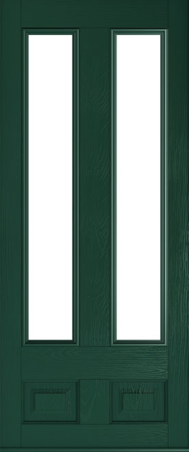 Glazed Edinburgh Green Solidor