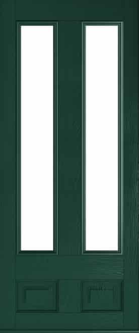 Glazed Edinburgh Green Solidor