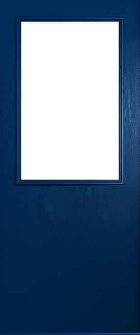 A Solidor Flint Beeston front door in blue