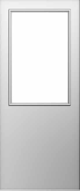 A Solidor Flint Beeston door in white