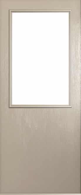 a Solidor Flint Beeston front door in cream