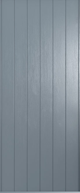 A Solidor front door in French grey