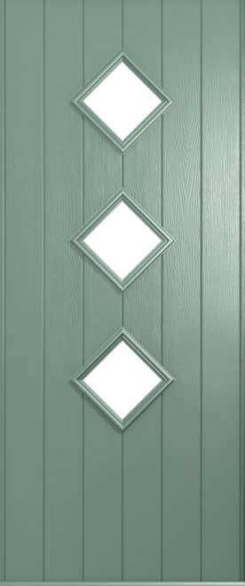 A Solidor Flint door in Chartwell Green