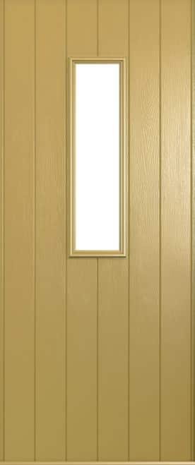 A Solidor Flint door in golden sand