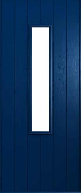 A Solidor Flint door in blue