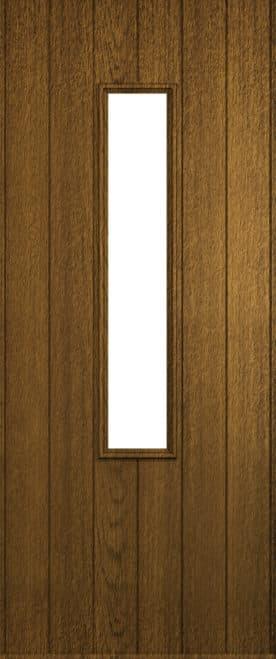 A Solidor Flint front door in luxury mocha