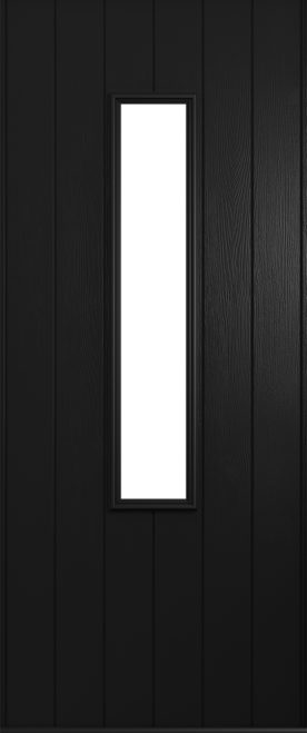 Black Flint door