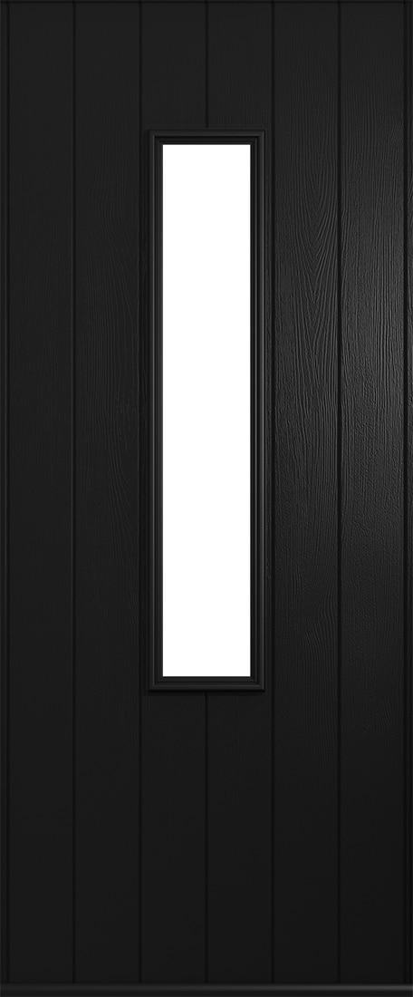 Black Flint door