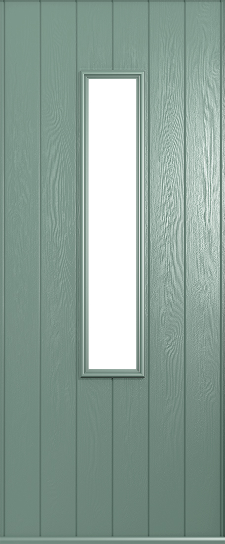 Flint Chartwell Green Composite Door