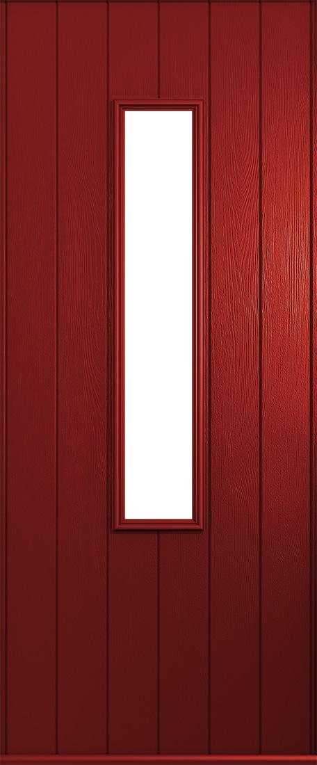 Red Flint front door