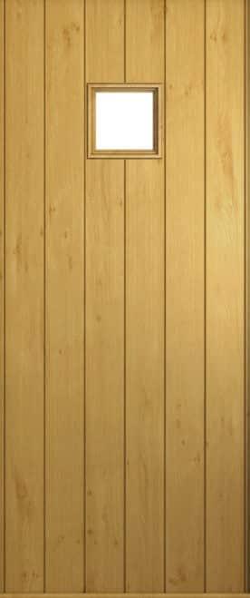 A Solidor Flint door in Irish Oak