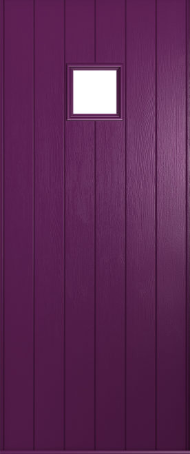 A Solidor Flint in rich aubergine