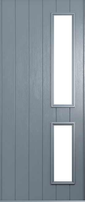 A Solidor Garda front door in French grey