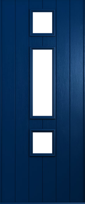 A Solidor Genoa front door in blue