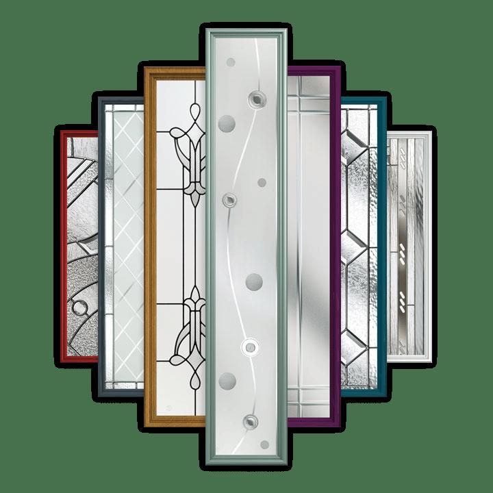 Contemporary glass front doors - Tenby Composite Doors From Solidor Front Doors