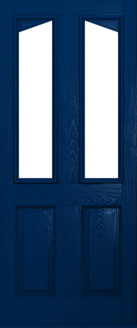 Harlech blue composite door