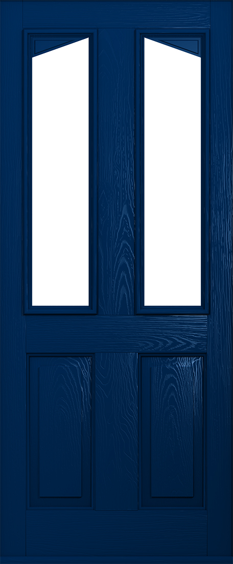 Harlech blue composite door