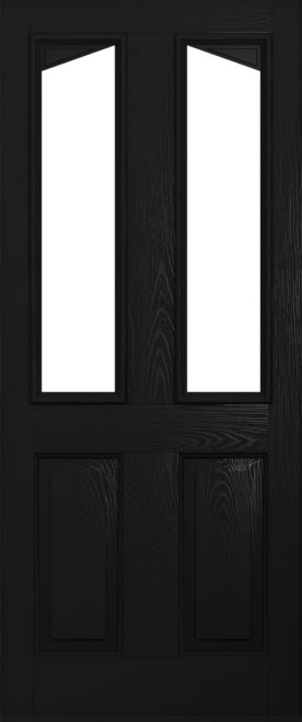 A Solidor Harleck door in black