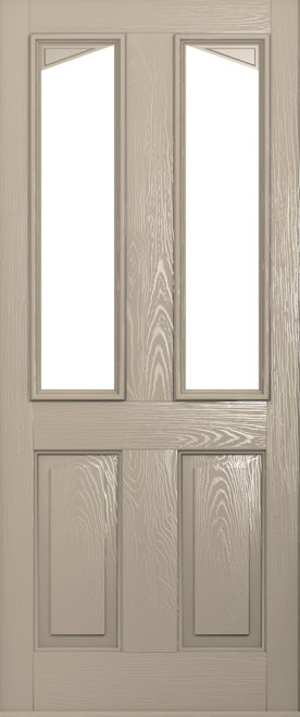 Harleck composite door in cream