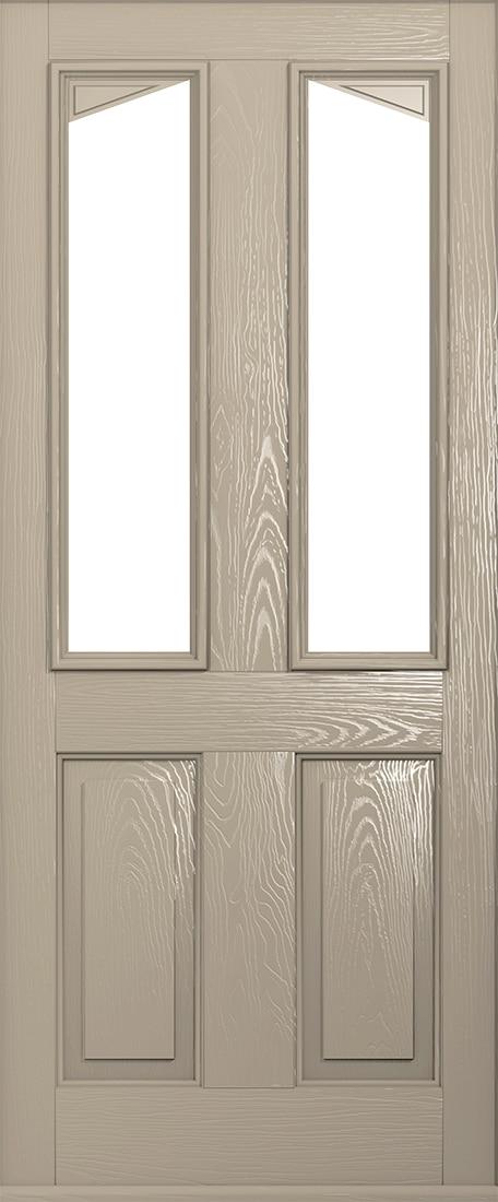 Harleck composite door in cream