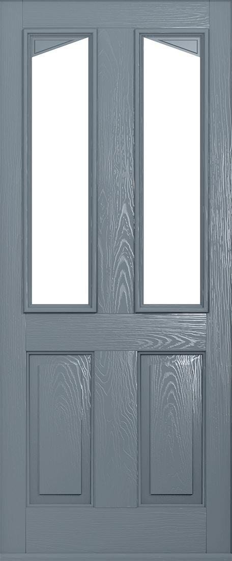 French Grey door