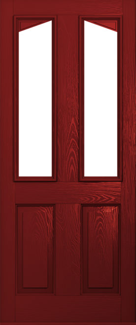 red harleck front door