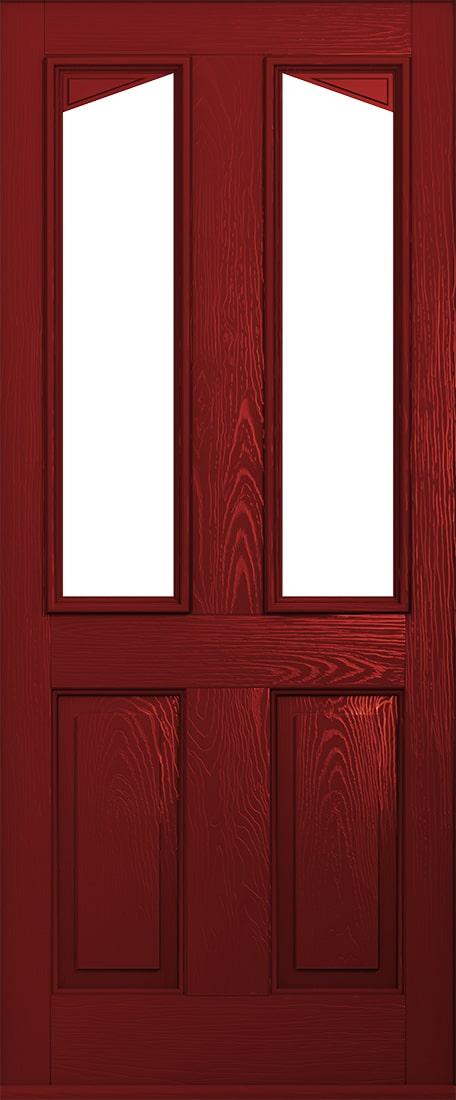 red harleck front door