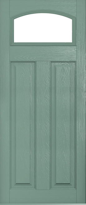 London Glazed Chartwell Green door