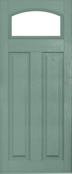 London Glazed Chartwell Green door