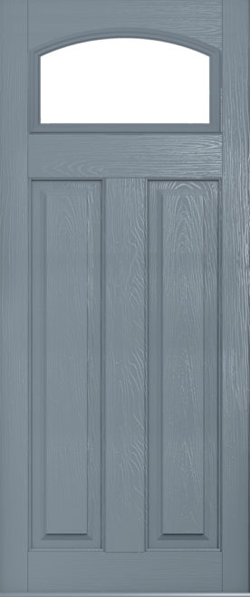 A glazed Solidor London in French Grey