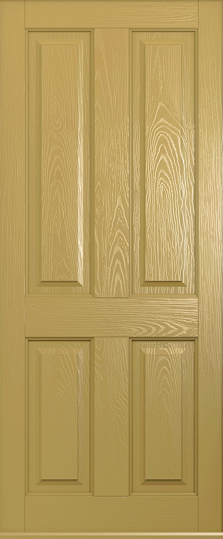 solid golden oak ludlow front door