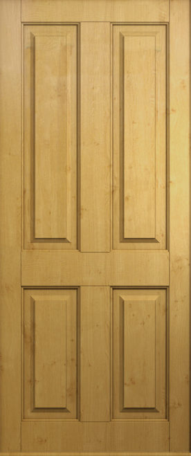 solid irish oak ludlow front door