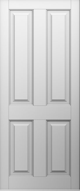white solid ludlow door
