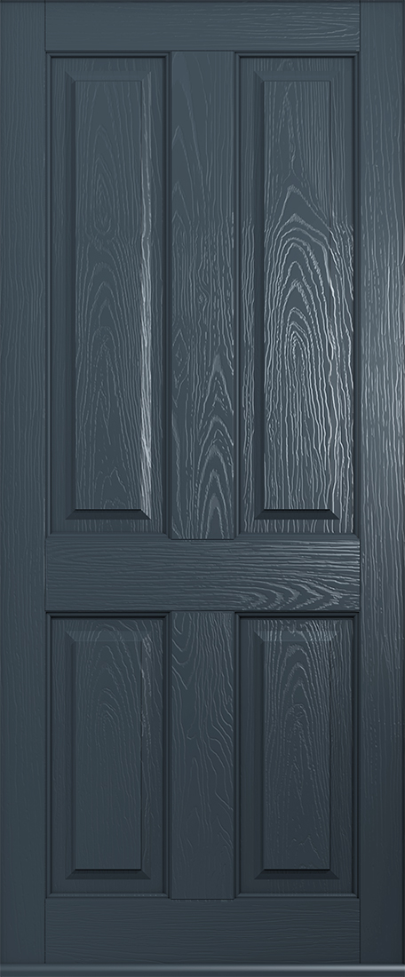 anthracite grey ludlow solid front door