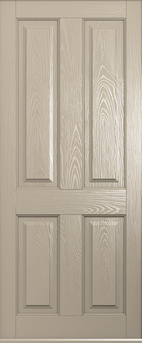 cream ludlow solid door
