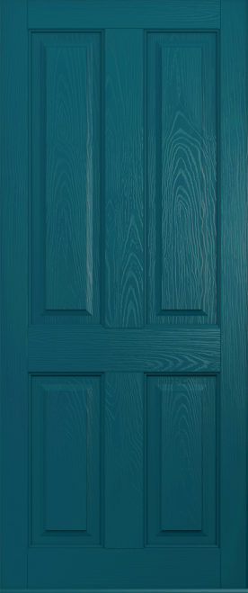 ludlow peacock blue solid door