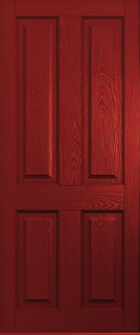 ludlow solid red door