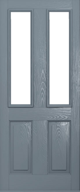A Solidor Ludlow front door in French Grey