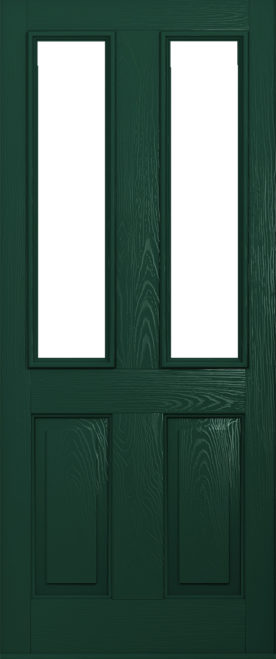 Green Ludlow Composite door