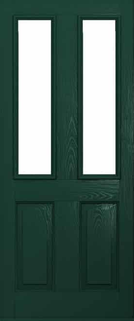 Green Ludlow Composite door