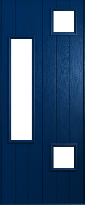 A Solidor Messina front door in blue