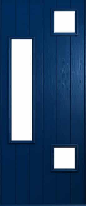 A Solidor Messina front door in blue