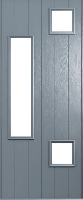 A Solidor Messina door in French Grey