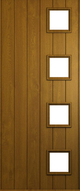 golden oak milano front door