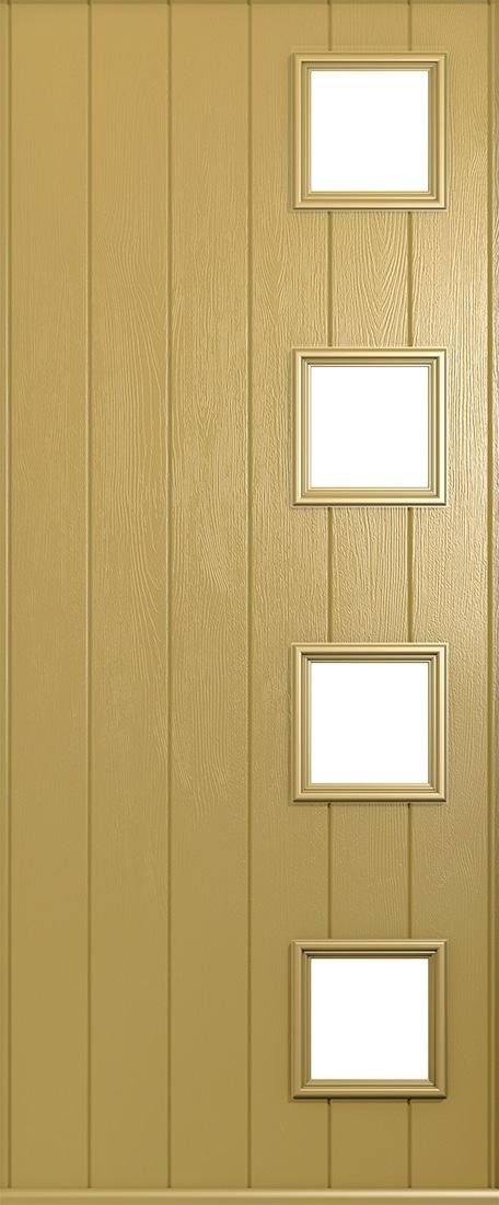 golden sand milano door
